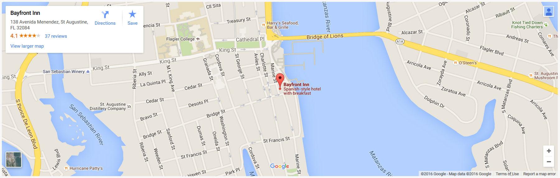 Bayfront Inn on Google Maps